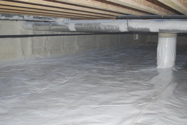Crawl Space Encapsulated in North Beach, MD