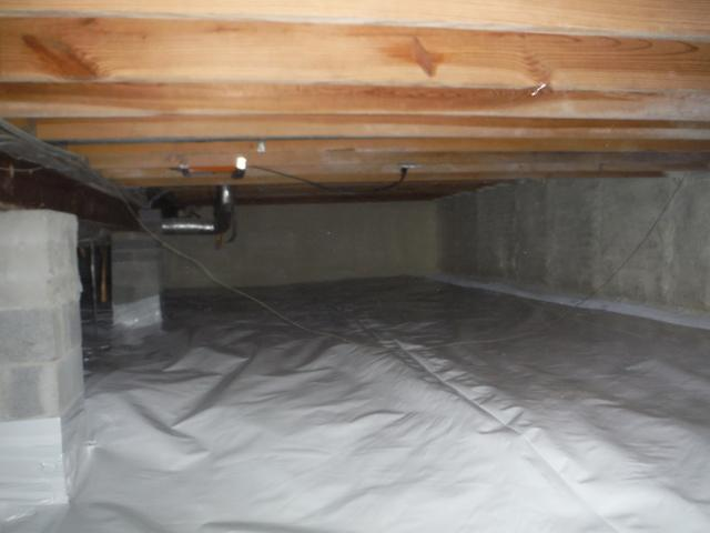 Crawl Space Encapsulation in Dunkirk, MD