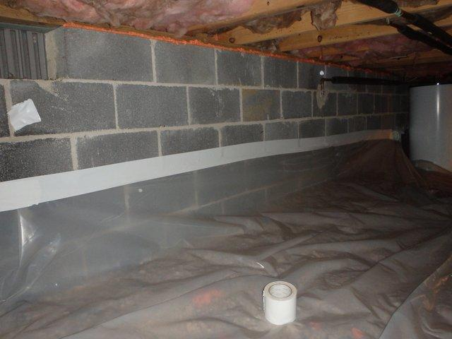 Clean Space Crawlspace in Bowie, Maryland