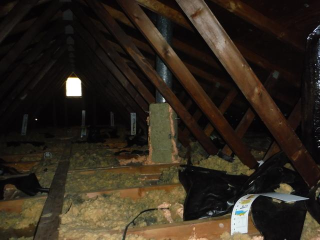 Attic Insulation in Washington,DC - Before Photo