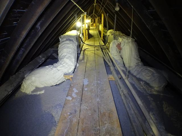 Mingo Junction OH Commercial Insulation job
