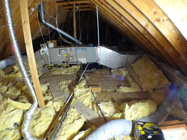 McMurray PA Attic Mold Removal and Attic Insulation