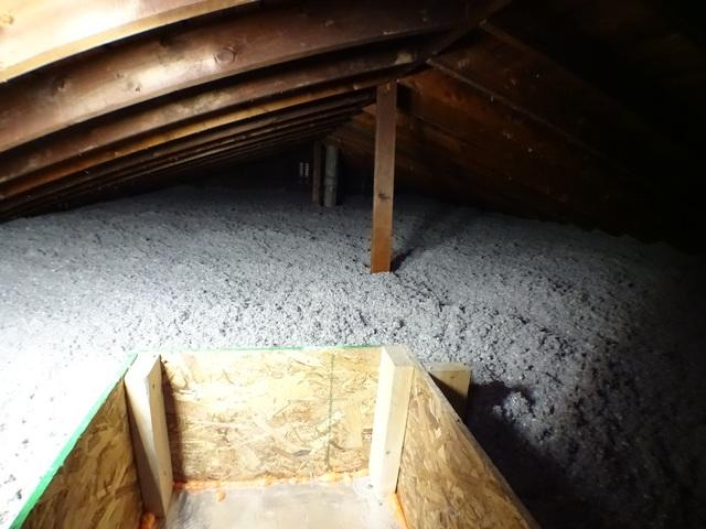 St. Clairsville OH Blown Cellulose Insulation - After Photo