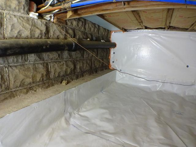 Crawl Space Encapsulation in Pittsburgh, PA - After Photo