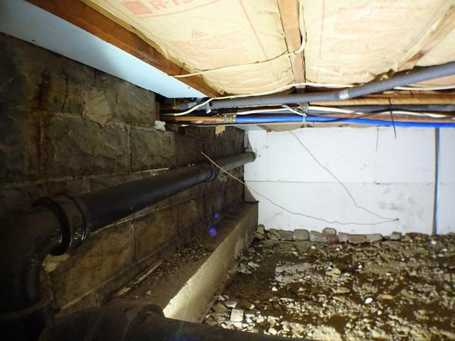 Pittsburgh PA Crawl Space Encapsulation - Before Photo