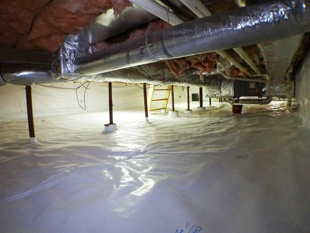 Wheeling WV Crawl Space Insulation and Encapsulation