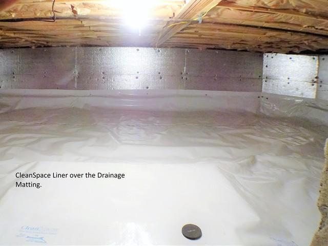 Pittsburgh, PA Clean Space Liner Installed In Crawl Space