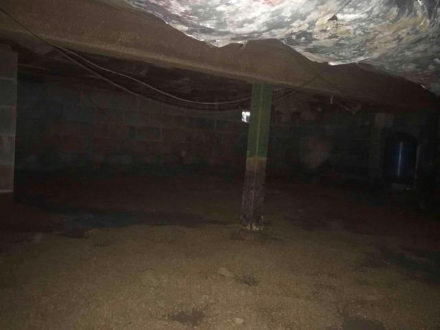 New Cumberland WV crawlspace