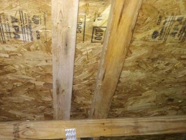 Monroeville PA  Attic Mold & Insulation - After Photo