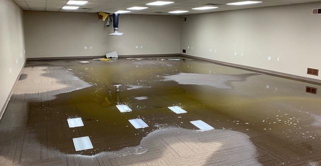 Chester, WV Office Flood