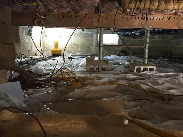 Crawl Space Insulation in Pittsburgh, PA