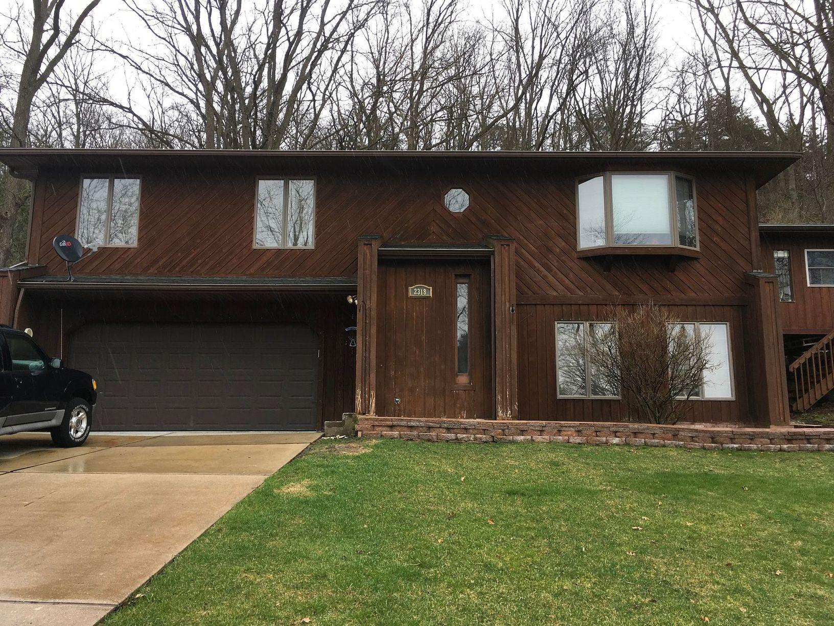 New Vinyl Siding in Cross Plains, WI - Before Photo