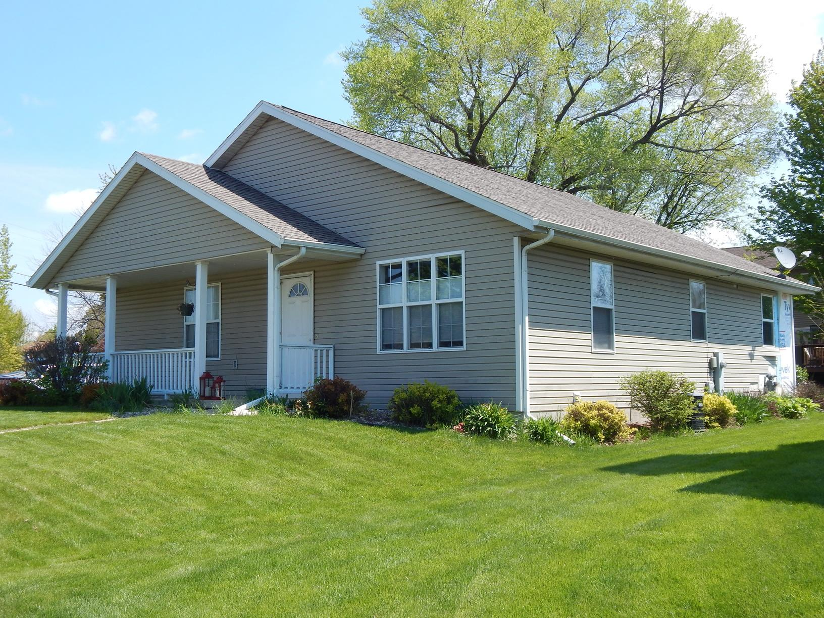 New Siding & Gutters in Madison, WI - Before Photo