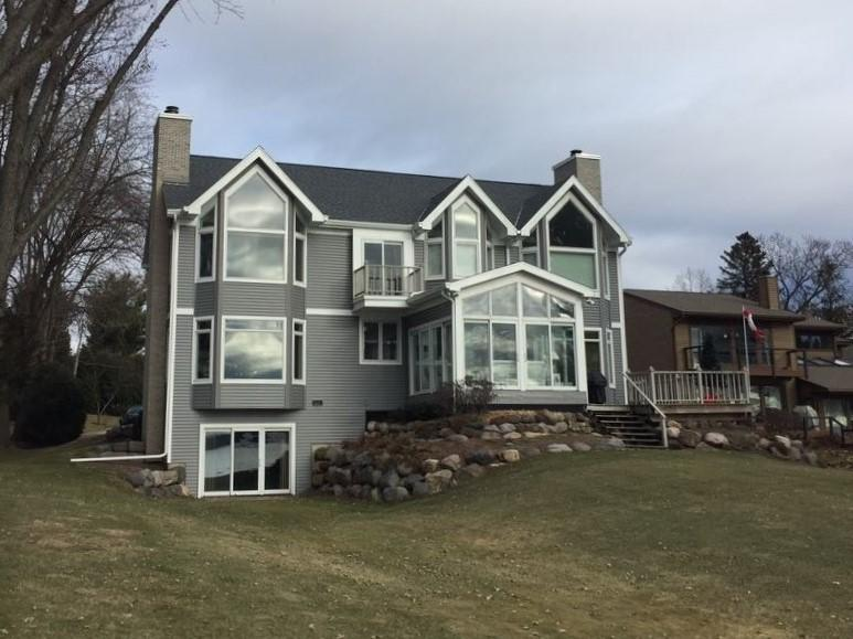 Exterior Transformation for Lake Mendota Home - After Photo