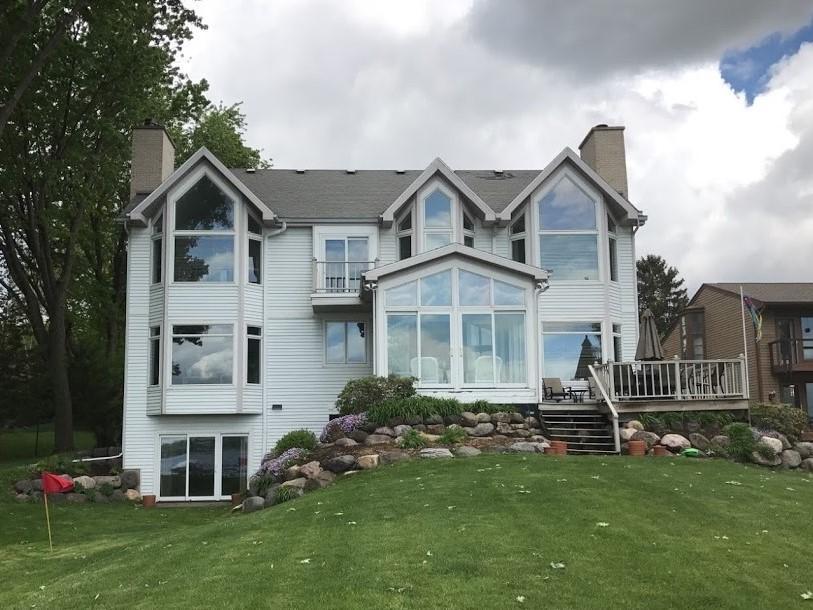 Exterior Transformation for Lake Mendota Home - Before Photo