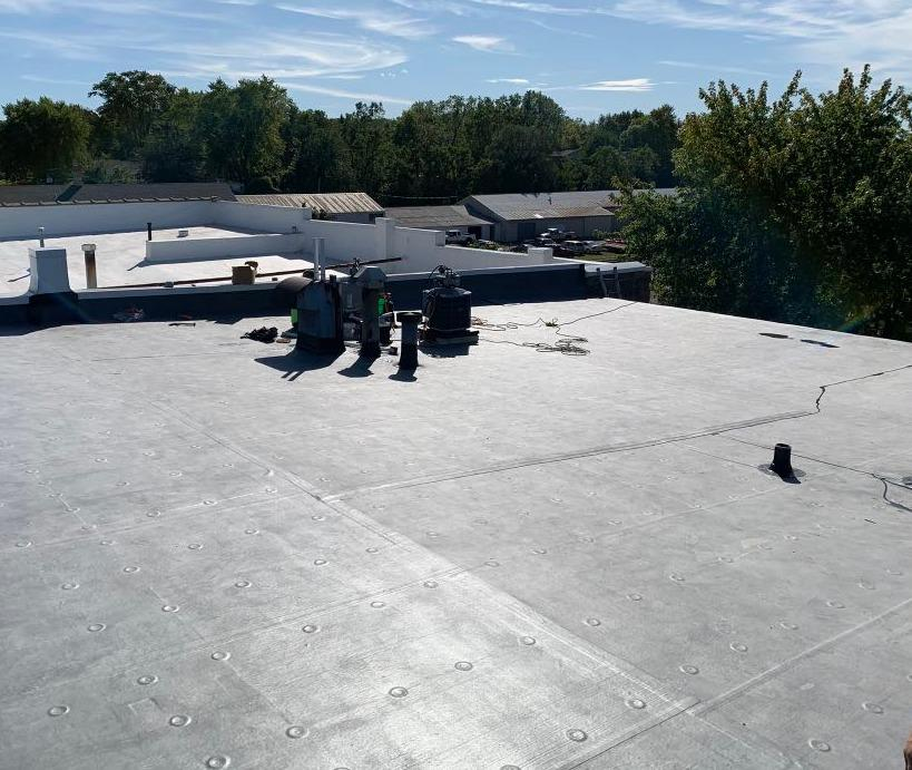 Commercial Flat Roof in Mazomanie, WI - After Photo