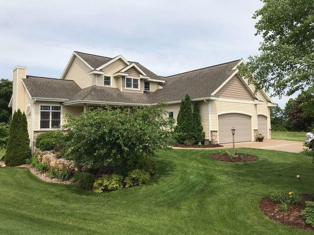 Hail Damaged Roof Replaced in Waunakee, WI - Before Photo