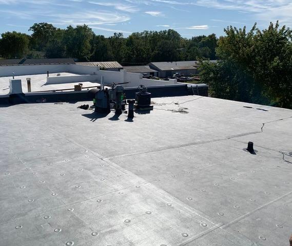Commercial Flat Roof in Mazomanie, WI