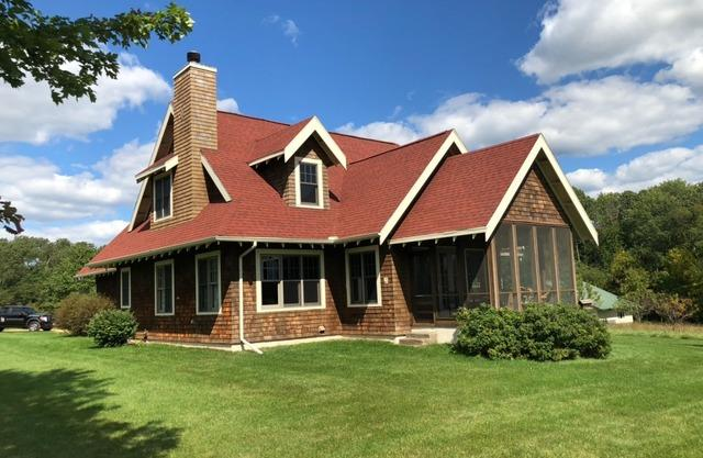 Red Roof Replacement Northwest of Sauk City