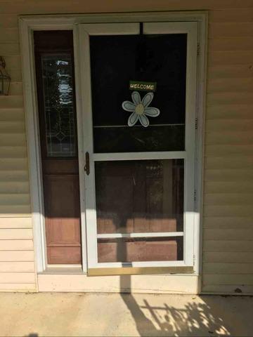 Seneca Falls Home Has a New Entry Way Door