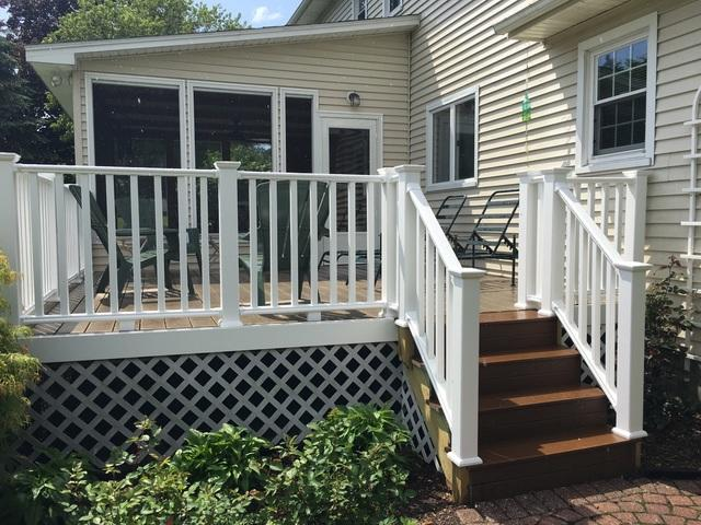 New Deck Upgrade in Marion, NY