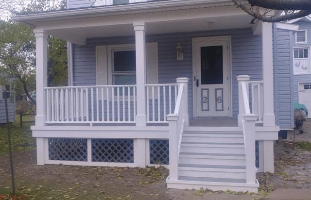 Porch Rebuild in Geneva, NY