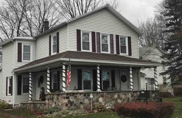 A New Roof Protects this Port Gibson, NY Home