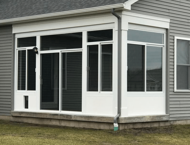 Sunroom Installation in Canandaigua, NY - After Photo