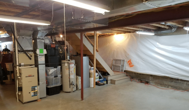 Basement Remodel in Ontario, NY
