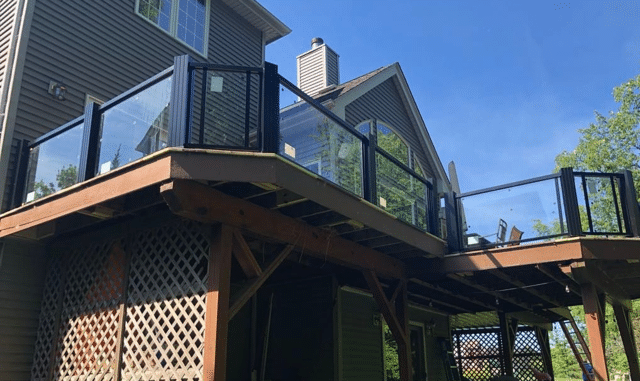 New Betterliving Railing System in Macedon, NY