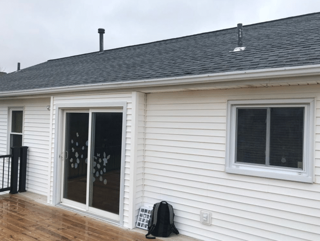 Awning Installed in Spencerport, NY