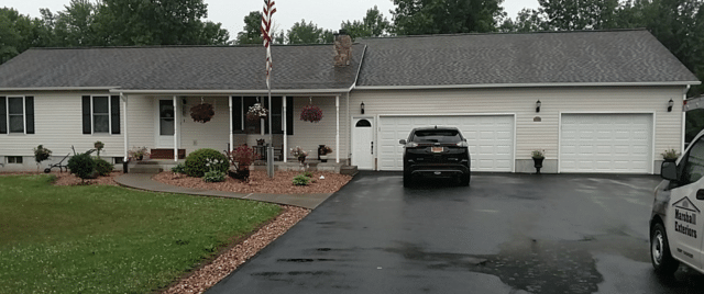 A New Roof Protects this Waterloo, NY Home