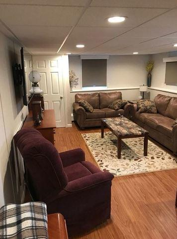 Finished Basement in Spencerport, NY