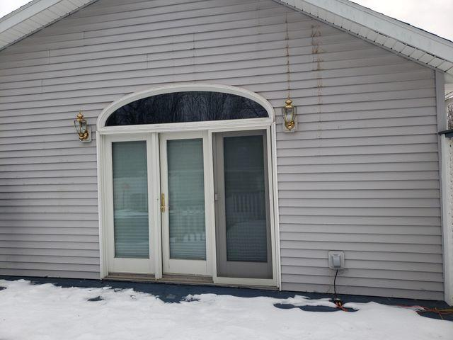 New Sunroom in Shortsville, NY - Before Photo