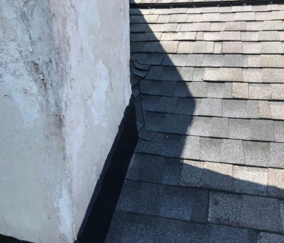 Roof Repair at the Chimney on an Auburn NY Home
