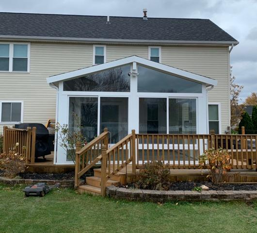 A New Sunroom in Rochester, NY