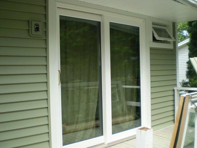 Patio Door Installed in Auburn