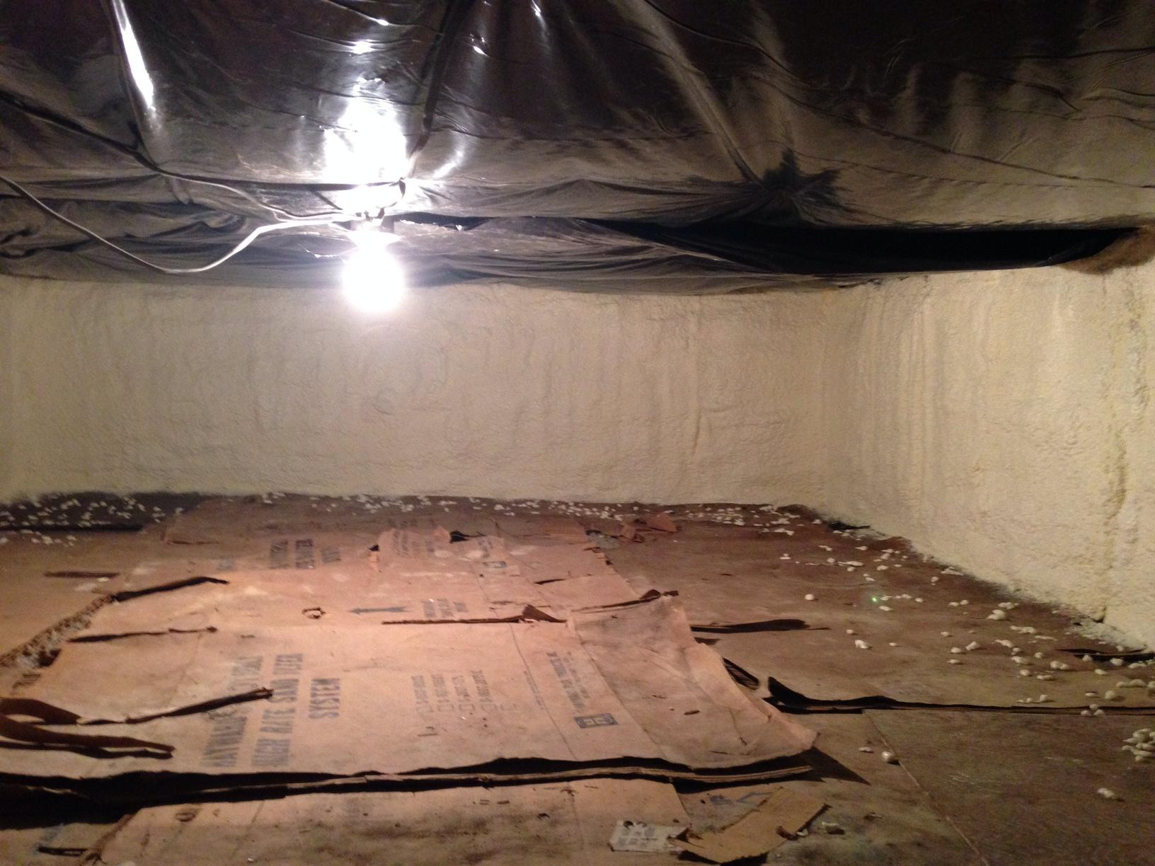 Mt. Morris, NY - Spray Foam Improved Comfort in Living Space Above Crawl Space - After Photo