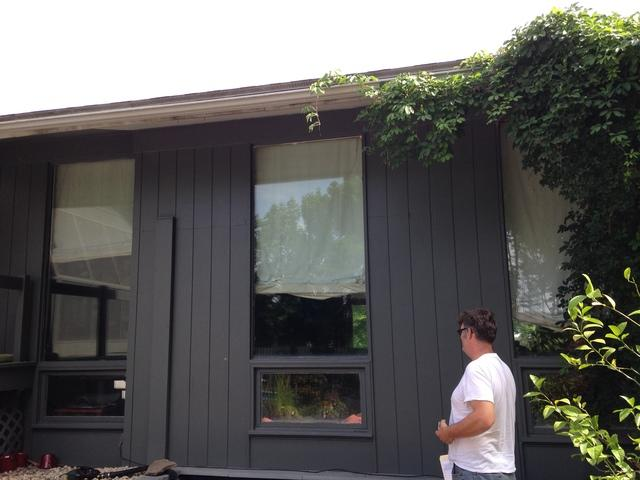 Window Installation in Pittsford NY - Before Photo