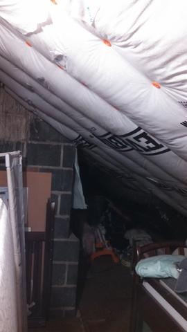 Insulated Ducts in Rochester Attic