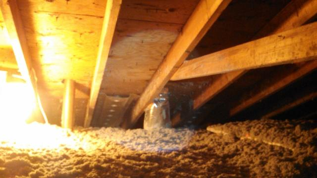 Webster, NY Attic Insulation Upgraded with Cellulose