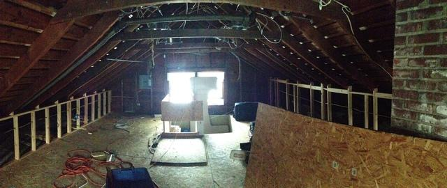 Finished Attic in Rochester, NY