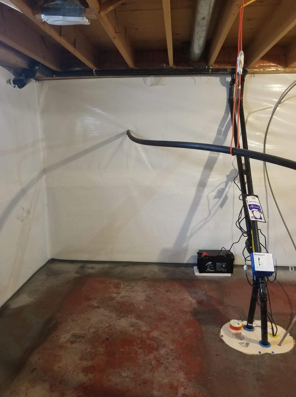 Sump Pump Installation Carp - After Photo