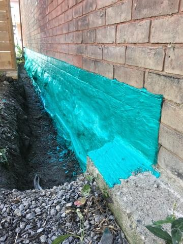 Foundation Waterproofing - After Photo