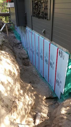 Cottage Foundation Waterproofing - After Photo