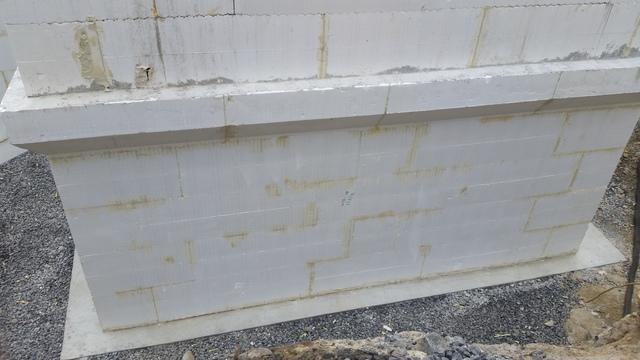 I.C.F Foundation Waterproofing (New Home) - Before Photo
