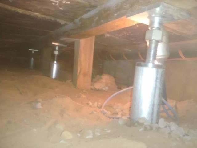 Sagging Floor stabilization