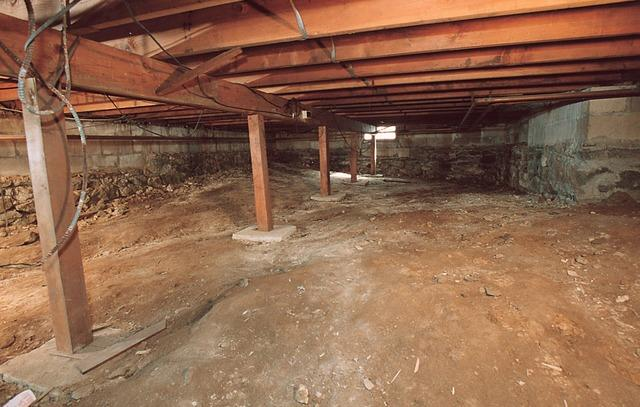 Crawl Space Encapsulation! - Before Photo