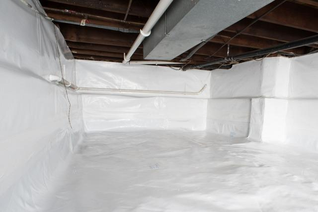 Crawl Space Insulation in Crysler