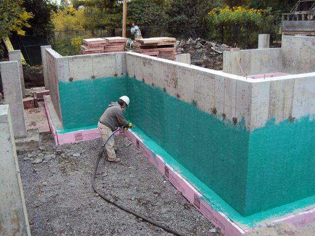 New Construction Foundations Waterproofed in Ottawa